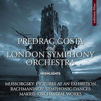 Mussorgsky, Rachmaninov & Makris: Orchestral Highlights