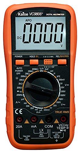 Kaise VC9808+ Multímetro