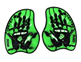 Arena Vortex Evolution Hand Paddle, Accessorio da Allenamento Unisex Adulto, Verde (Acid Lime/Black), M
