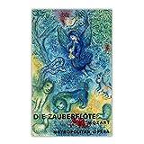TanjunArt Marc Chagall Mozart Zauberflöte Leinwand