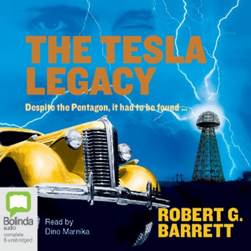 The Tesla Legacy audiobook cover art