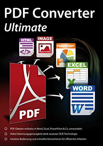 PDF Converter Ultimate - PDFs umwandeln und bearbeiten für Windows 10 / 8.1/ 8 / 7