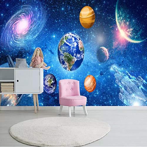 3D-Wandbild, Universum, Sternen-Galaxie, Fototapete für Kinderzimmer, Schlafzimmer, Heimdekoration, Fresko-Wandtuch