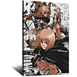 Anime Poster Attack On Titan Armin Arlert Poster Decorative Painting HD Canvas Wall Art Living Room Posters Bedroom Painting Modern Family Bedroom Decor Posters8x12inchs(20x30cm)