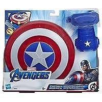 Si attacca al guanto magnetico Stacca lo scudo per lanciarlo come un disco Immagina di lottare per la giustizia con Capitan America
