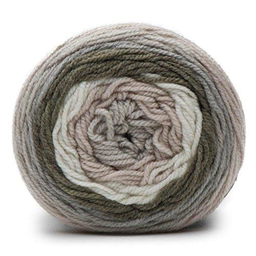 Caron Cakes Self Striping Yarn 383 yd/350 m 7.1 oz/200 g (White Truffle)
