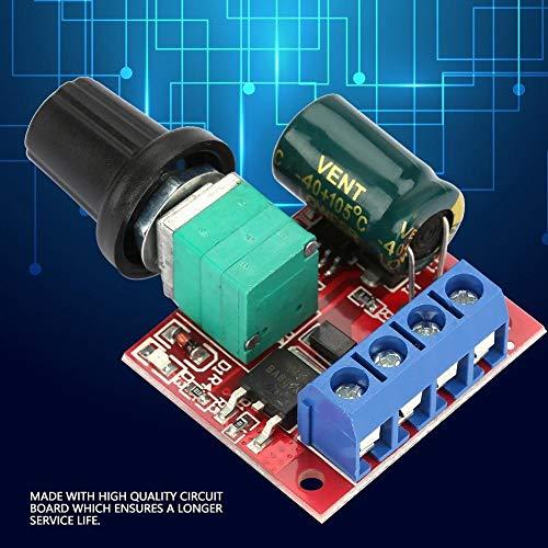 F-MINGNIAN-TOOOL, 1 stuk 5 V-28 V 5 A PWM DC motorbesturing, schakelaar Volt, LED-regelaar dimmer
