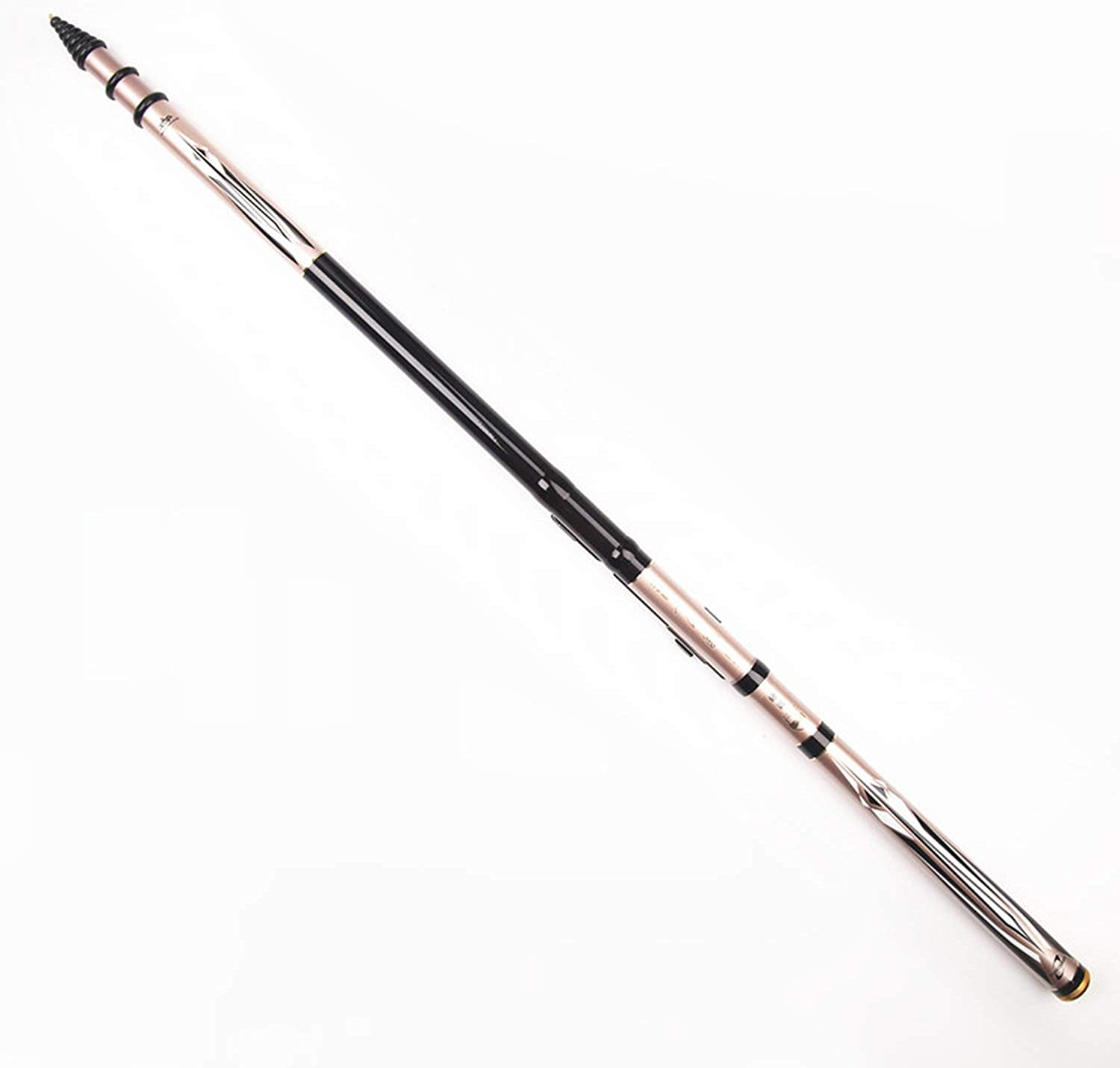 Carbon 4.5M 5.4M 6.3M 7.2M Telescopic Spinning Fishing Rod Weight 350G FrontEnd Fishing Rod 3 Position Drag 5Kg