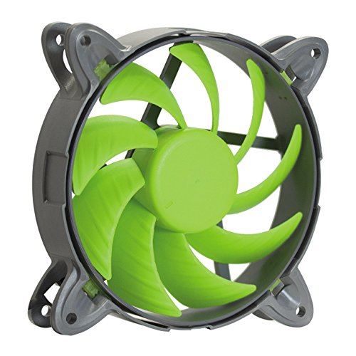 Nanoxia 200300443 Special N.N.V. Fan 120 PWM, 120mm x 120mm x 25mm, 400 - 1.650 U/Min, 24,6 dB(A), 89,4 m³/h, 1,38 mm-H²O, Fluid Dynamic Bearing, vibrationsfrei, 4-Pin PWM Anschluss