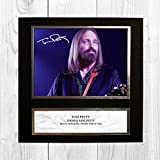Tom Petty 1 NDW Signed Reproduction Autographed Wall Art - 10 inch x 10 inch Print (Card Mounted)