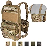 Lancer Tactical 1000D Nylon QD Chest Rig and Backpack Combo (CAMO)