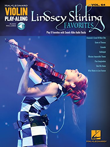 Lindsey Stirling Favorites: Violin Play-Along Volume 64 (Hal Leonard Violin Play-along) (English Edition)
