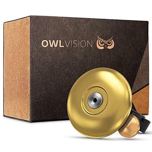 OWL VISION - Hochwertige Fahrradklingel...