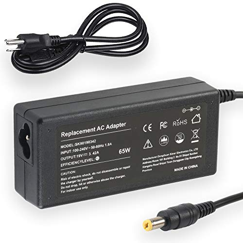 19V 3.42A 65W AC Adapter Laptop Charger for Acer Aspire 5532 5349 5750 5742 5250 5253 5733 5534 5336 5552 5560 7560 SB416 5250 AS7750 6423 V5 V7 V3 R3 R7 S3 E1 M5