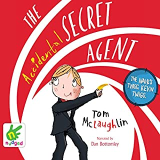 The Accidental Secret Agent cover art