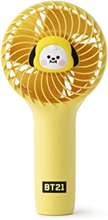 BT21 Official Baby Mini Handheld Personal Portable Fan 新バージョン ミニ携帯扇風機 ハンディファン