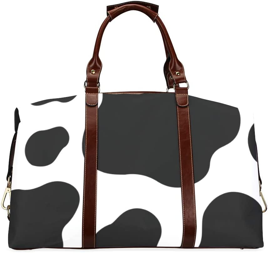 Overnight Bags Brown Popular shop is the lowest price challenge And White Chocolate Classic Oversize 70% OFF Outlet Animal