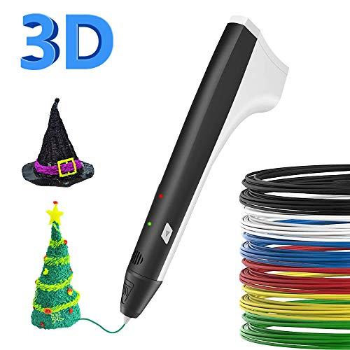 SUNLU Stylo 3D avec écran LCD, Compatible avec PLA/ABS pour...