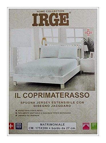 Coprimaterasso Matrimoniale Irge Spugna Jacquard