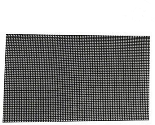 Kunststoff Blumentopf Mesh Pad Gitter Abdecknetz verhindern Boden Verlust auslaufsicher Pad korrosionsschutzes atmungsaktiv Matte (5stk 30x20cm)