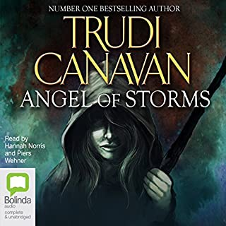 Angel of Storms audiobook cover art