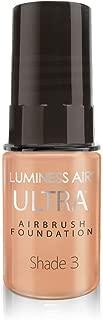 Luminess Air Airbrush Ultra Dewy Finish Foundation, Shade 3, 0.25 Oz
