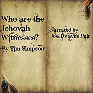 Who Are the Jehovah Witnesses? audiobook cover art