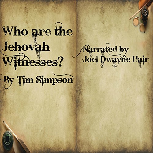 Couverture de Who Are the Jehovah Witnesses?