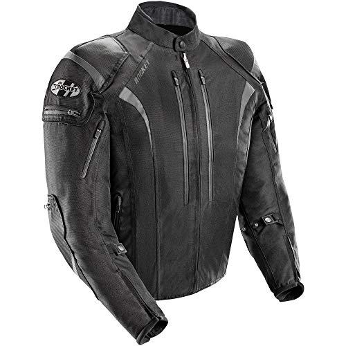 Joe Rocket Men's Atomic 5.0 Jacket (Black, Tall XX-Large)