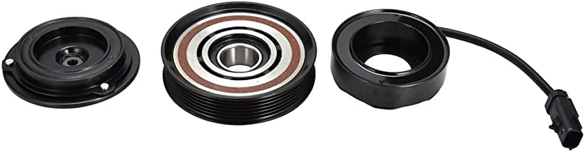 TOHUU 10349340 A/C AC Compressor Clutch kits for Jeep Cherokee Wrangler TJ Pulley Coil Plate