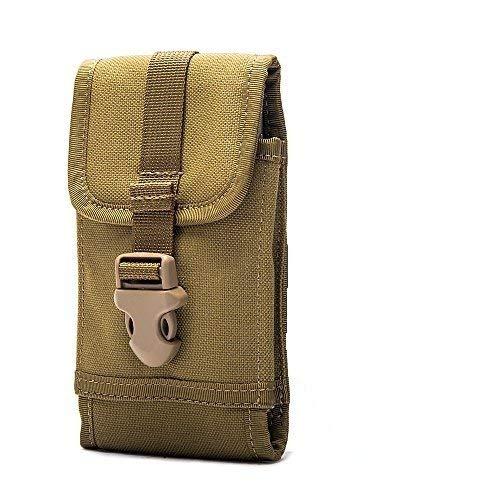 Fertuo DOOGEE S59 Pro / S96 Pro Hülle, Handyhülle Outdoor Handytasche Hülle Cover Handy Schutzhülle Gürteltasche Hüfttasche für DOOGEE S40 Lite / S55 / S60 / S80 / S90 / S68 Pro / S95 Pro, Braun