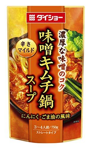 ダイショー 味噌キムチ鍋スープ 750g×10袋入