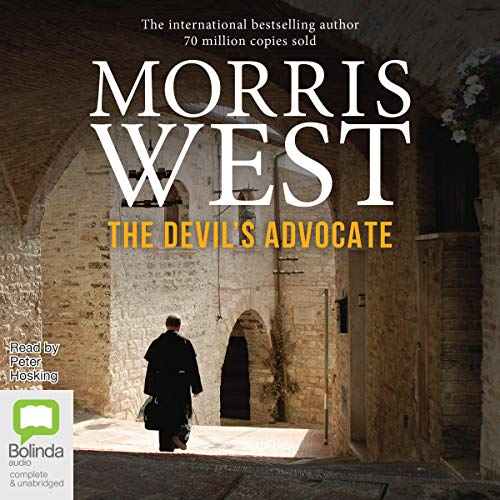 The Devil's Advocate audiobook cover art
