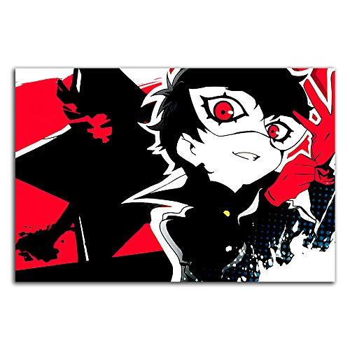 Trelemek Persona 5 Strikers - Lienzo decorativo para pared (61 x 40,6 cm), diseño de videojuegos