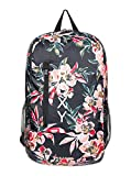 Roxy Fresh Air, Mochila plegable. para Mujer, Color gris antracita Wonder Garden S, Medium
