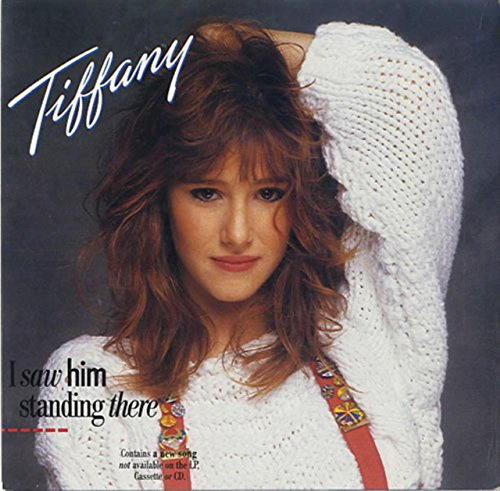 TIFFANY - I SAW HIM STANDING THERE - 7 INCH VINYL / 45