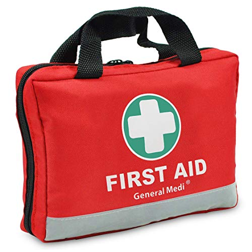 General Medi First Aid Kit -309 Pieces- Reflective Bag Design