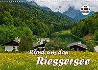 Rund um den Riessersee (Wandkalender 2022 DIN A3 quer): Eingebettet in eine atemberaubende Berglandschaft liegt dieser idyllische See ueber den Daechern von Garmisch-Partenkirchen (Geburtstagskalender, 14 Seiten )