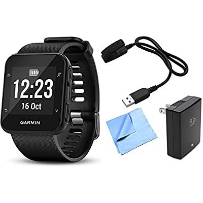 Garmin Forerunner 35 GPS Running Watch & Activity Tracker with Accessories Bundle