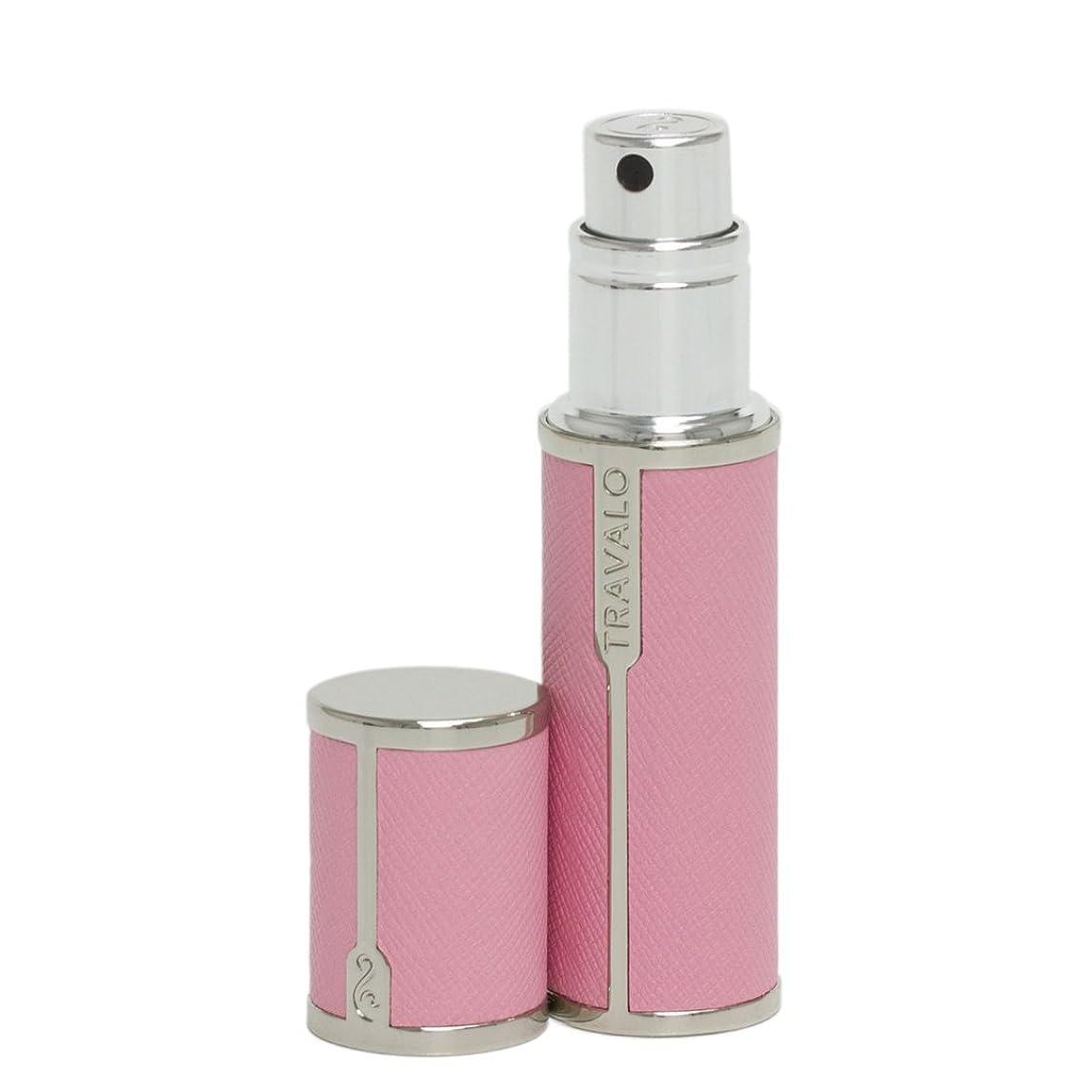 途方もないに困難香水アトマイザー Travalo Milano トラヴァーロ ミラノ 香水 アトマイザー 香水10秒チャージ (ピンク)