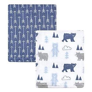 Hudson Baby Home Silky Plush Blanket