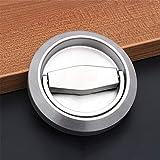 2 tiradores de puerta empotrables para puerta corredera, de acero inoxidable, para puerta de armario, de acero inoxidable