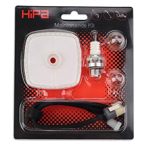 Hipa Repower Tune-Up Kit Air Filter for Echo String Trimmer SRM225 SRM210 SRM2100 SRM230 GT200 GT225 PAS225 PB200 PB250 PB250LN PB201 PB2100 Blower PE200 PE2100 PE211 ES210 ES2100 ES250 HC150 HC151