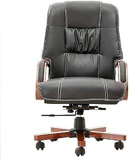 LFEWOZ - Silla giratoria cómoda para carrera en casa, sala de conferencias, escritorio ergonómico, silla de estudio, silla de oficina, ordenador de escritorio