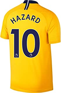 Nike Chelsea Away Hazard 10 Jersey 2018/2019 (Authentic EPL Printing)