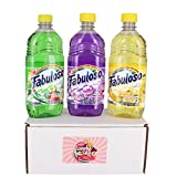 Fabuloso Multi-Purpose Cleaner 16.9 FL OZ Variety Pack of 3 (Passion of Fruits, Lavender, Lemon) (1 of Each, Total of 3)