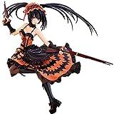 Knmbmg Date A Live: Tokisaki Kurumi La Figura de acción de PVC 23cm, Animado Pretty Girl Dress Negro...