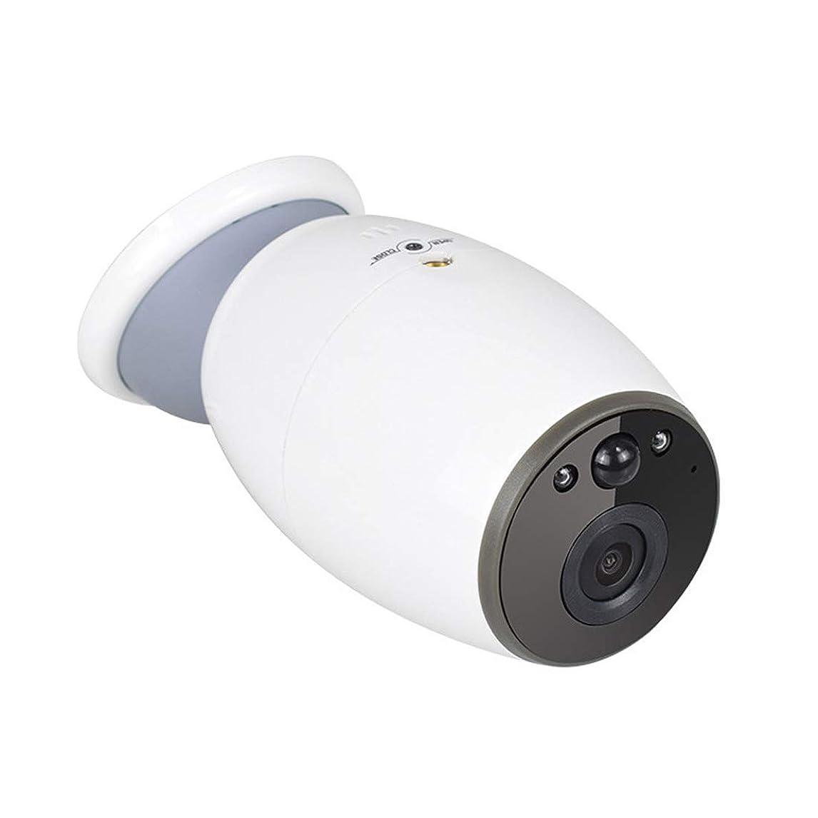 天井おしゃれじゃない形状ノウ建材貿易 監視カメラ - 双方向通話ナイトビジョン低消費電力1080PスマートHD WiFi IPカメラ