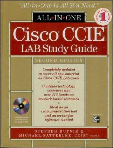 Cisco CCIE Lab Study Guide, m. CD-ROM (All-In-One Certification)