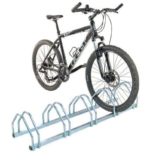 Mottez Fahrradständer freistehend für 4Fahrräder
